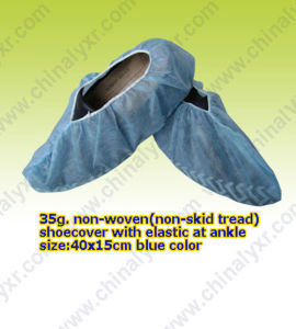 Ceap Disposable PP Nonwoven Shoecover (LY-NSA-B) pictures & photos