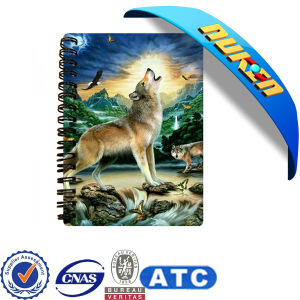 2015 Lovely Animals Custom Lenticular 3D Notebooks pictures & photos