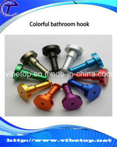 Colorful Aluminum Bathroom Hook to Hang Clothes Bch-002 pictures & photos