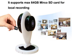 720p Wireless P2p IP Pinhole Camera pictures & photos