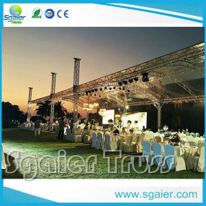 China on Sale Aluminum Studio Curved Event Stage Lighting Roof Truss pictures & photos