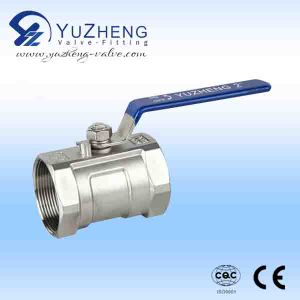 Industrial 1 Piece Thread Ball Valve pictures & photos