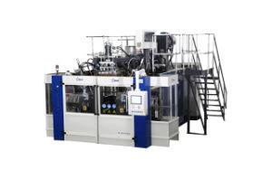 Unique Design of Automatic Blow Moulding Machine B10d-560 Oblique (2 Stations 4 Cavities)