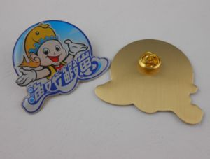 Metal Badge, Cute Lapel Pin, Epoxy-Dripping Badge (GZHY-LP-028) pictures & photos