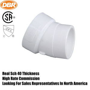 PVC Drainage Fitting 4 Inch 22.5 Degree Elbow