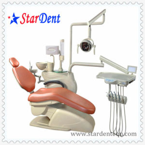 Dental 208f Leather LED Chair pictures & photos