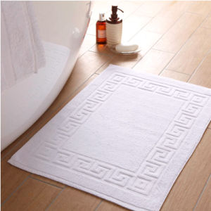 Luxury Hotel 100% Turkish Cotton Banded Panel Bath Mat (DPF107200) pictures & photos