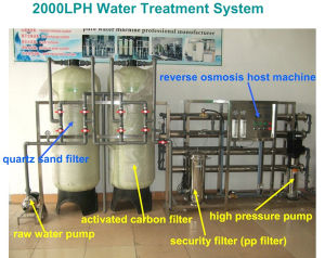 Professional Manufacturer Reverse Osmosis RO Water Treatment System/Equipment/Plant pictures & photos