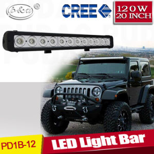 4X4 Offroad Truck Head LED Driving Light 20inch 120W CREE Single Row LED Light Bar (PD1B-12)