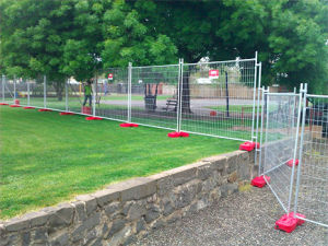 Portable Steel Temporary Fencing Panel pictures & photos