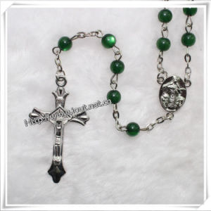 Resin Beads Rosary, Plastic Beads Rosary, Religious Rosary (IO-cr056) pictures & photos