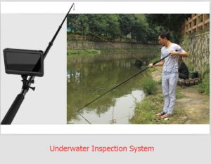 16feet/5m Telescopic Pole Handheld HD Video Inspection Digital Camera for Aquiculture/Pisciculture/Fish-Farming Inspection pictures & photos