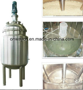 Factory Price Agitator Stirring Jacket Emulsification Stainless Steel Industrial Oil Blending Plants pictures & photos