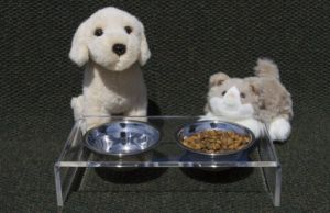Elevated Acrylic Pet Feeder Dog Feeder Cat Feeder pictures & photos