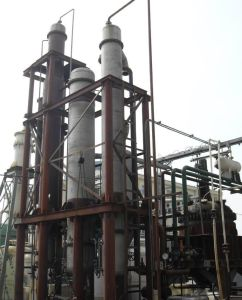 Multi Effect Falling Film Vacuum Evaporator for Effluent Evaporation System pictures & photos