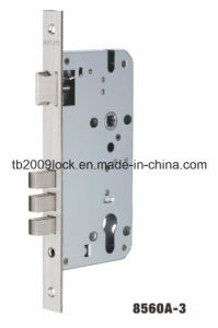 High Quality Door Lock, Mortise Lock Body (8560A-3) pictures & photos