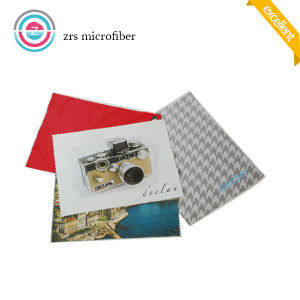Custom Size Sew Edge Super Microfiber Eyeglass Cleaning Cloth pictures & photos