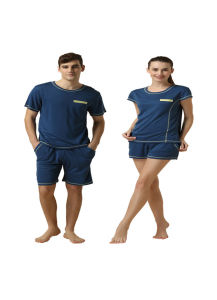 Customize Logo Brand High Quality Plain Lovers Sleepwear pictures & photos