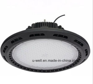Warehouse UFO Highbay Lighting IP65 Waterproof 130lm/W 100W 160W 200W LED High Bay Light