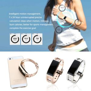 Smart Bracelet with Bluetooth 3.0 Pedometer Call Reminder Answering Phone Remote Capture Anti-Lost Sleep Monitor pictures & photos