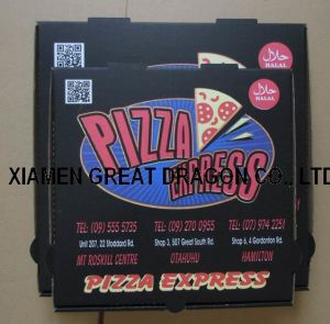 Locking Corners Pizza Box for Stability and Durability (PB160598) pictures & photos