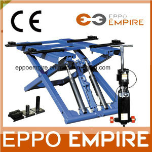 Ce Certificated Hydraulic Scissor Car Lifter Lxd-6000 pictures & photos
