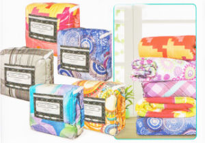 Printed Microfiber Quilt or Bedding Set pictures & photos