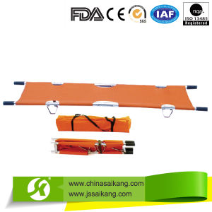 Foldable Hospital Medical Stretcher for Ambulance pictures & photos