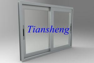 Heavy Duty Grey Double Glazed Aluminium Sliding Window pictures & photos