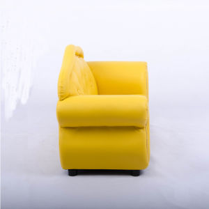 Yellow Modern Sofa for Living Room pictures & photos