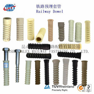 Screw Dowel for Concrete Sleeper of Railroad Fastening System pictures & photos