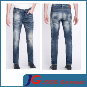 Knee Broken Tight Jeans on Man Jeans Clothes (JC3371) pictures & photos