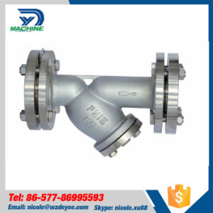 Stainless Steel Sanitary ANSI Flanged Y Strainer pictures & photos