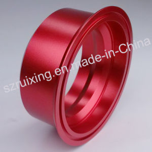 Aluminum Turning Part with Colorful Anodized pictures & photos