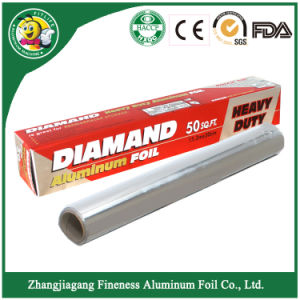 Diamond Aluminum Foil Rolls pictures & photos