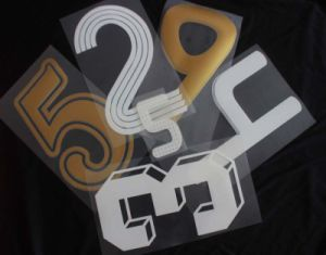 Sport Number Heat Transfer Paper pictures & photos