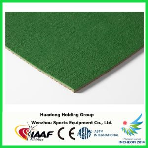 Iaaf Approved Rubber Mat for Race pictures & photos