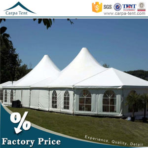European Style Strong Snow Loading Winter Mixed Marquee Tent with PVC Fabric pictures & photos