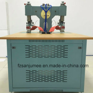 High Frequency Embossing and Cutting Machine for Shoe Covers pictures & photos