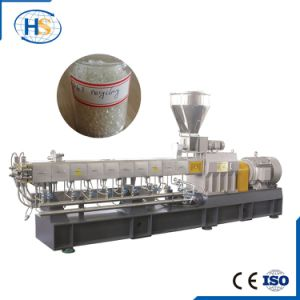 Rubber Pelletizing Horizontal Water Ring Twin Screw Extruder pictures & photos