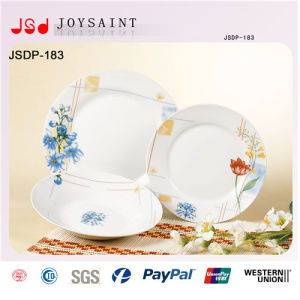 12PCS Square Shape Porcelain Plate pictures & photos