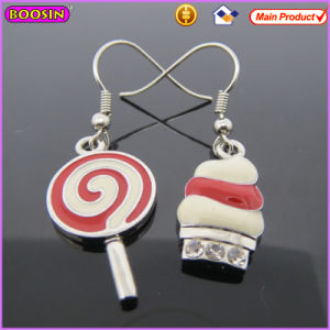Cute Style Lollipop High Quality Alloy Earring at Factory Price (21017) pictures & photos