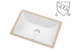Classic Designing Cupc Under Counter Bathroom Ceramic Sink pictures & photos