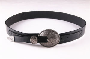 New Ladies PU Western Style Belt Retro Belt--Jbe1612 pictures & photos