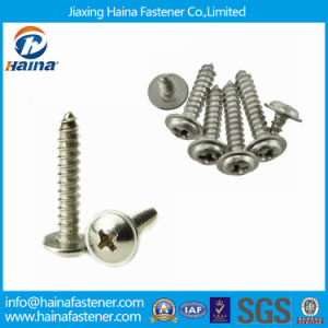 High Quality DIN968 Stainless Steel Self Tapping Screws with Collar pictures & photos