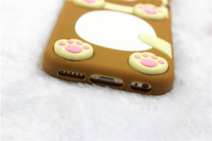 Cartoon Lovers Rilakkuma Button Silicone Phone Case for Samsung Galaxy J5 J7 P8 P9 (XSDW-001) pictures & photos