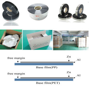 Zinc and Aluminum Metalized Polypropylene Film for Capacitor pictures & photos