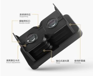 Foldable Hot Sale Virtual Reality 3D Glasses pictures & photos