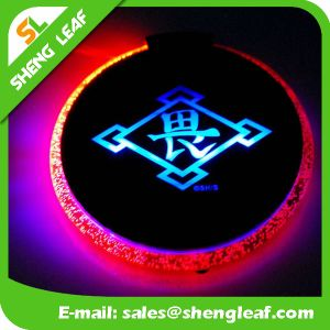 Householder High Quality Fashion LED Custom Acrylic Coaster (SLF-LC008) pictures & photos