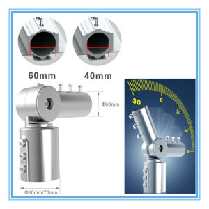 Angle Adjustable UL Meanwell Driver and Philips LED 40W LED Street Light pictures & photos